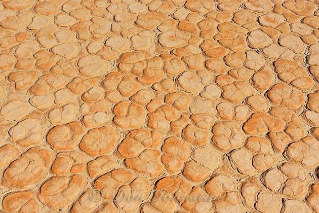 Mesquite Sand dunes- hardpan mud tiles