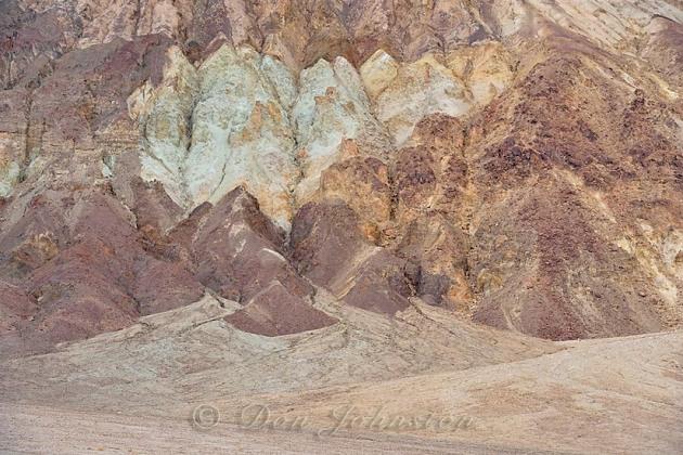 Eroded foothills of the Amargosa Range